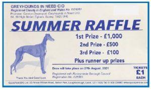 Summer Raffle 2021