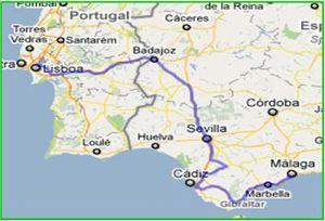 Spain Visit 2010 our journey